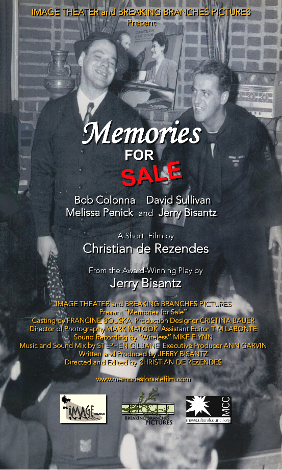 Memories for sale poster