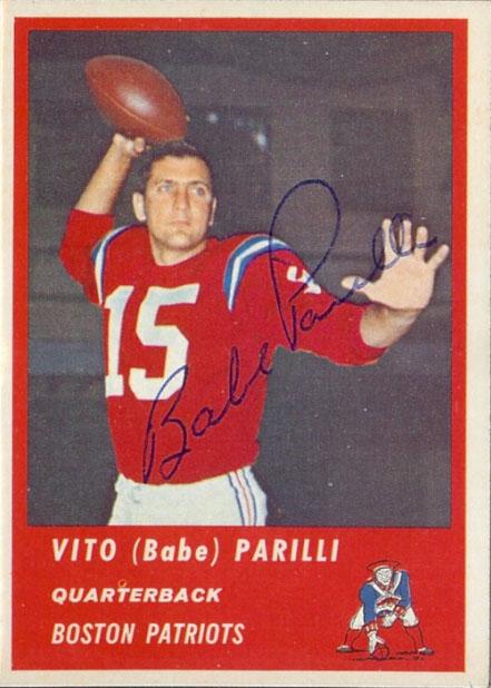 1963-Fleer-02-Vito-Babe-Parilli