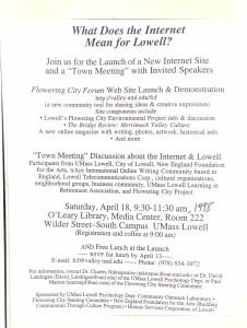 web forum 1998