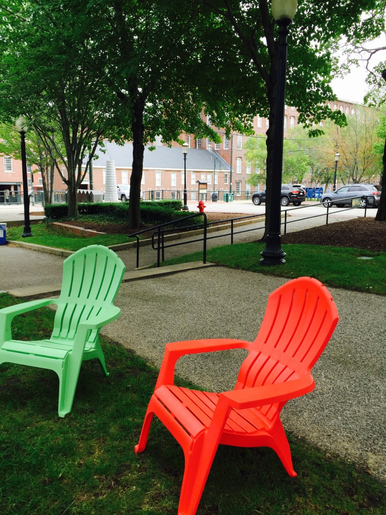 Chairs at Boarding House Park