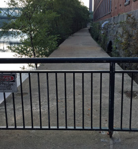 Riverwalk, Interrupted. Photo by Amy Bisson
