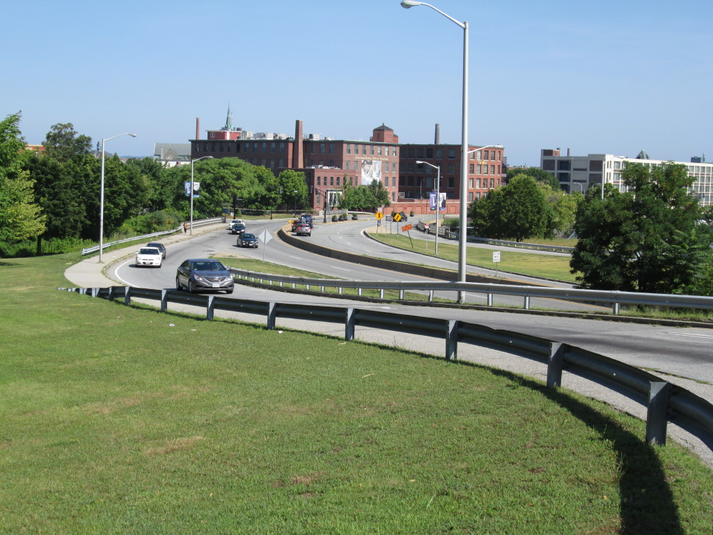 Thorndike St from Lord Overpass