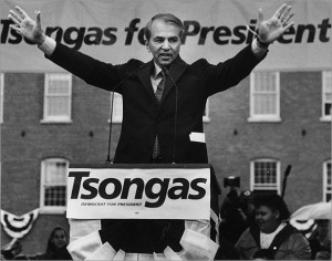 tsongas for pres